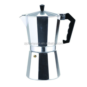 Professional 150ml Espresso Moka Cafetera with Clear Cover