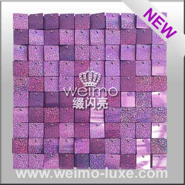 2016 Hot Sale Patent environmental protection sequin For Wall Decor