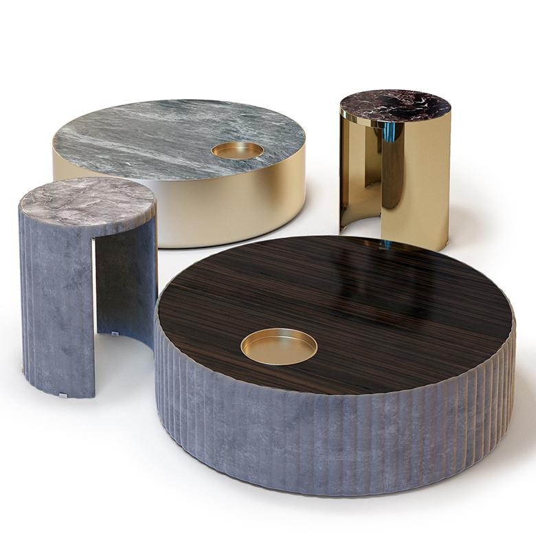 Stile Vintage di legno caffè tavolo di metallo tavolo da centro tavolo per le vendite