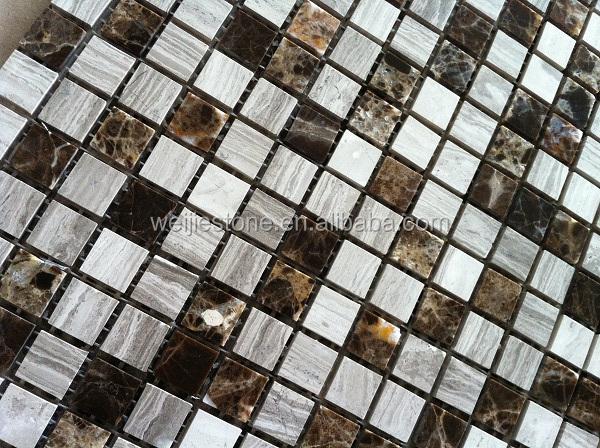 Super Dunne Marmor Mosaik Fliesen Fur Wand Und Boden Dekoration