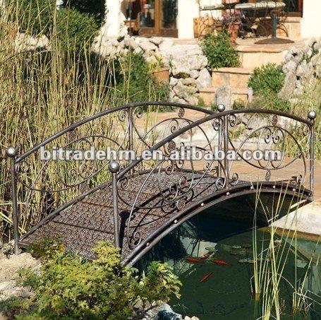 M tal pont pour jardin arches pavillon pergola et ponts - Bordures metalliques pour jardin ...