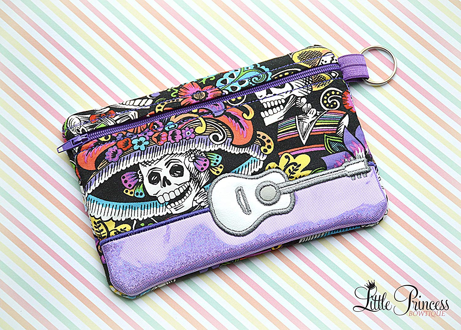 65132d95132a Buy HSs4AD Watercolor Sugar Skull Cosmetic Bag Travel Toiletry Bag ...