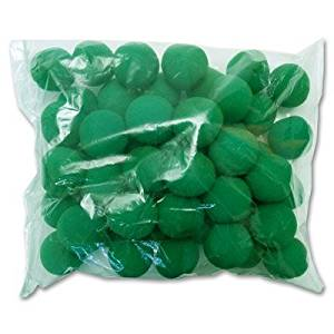 "2"" 50 Super Soft Sponge Balls (Green) - Trick"