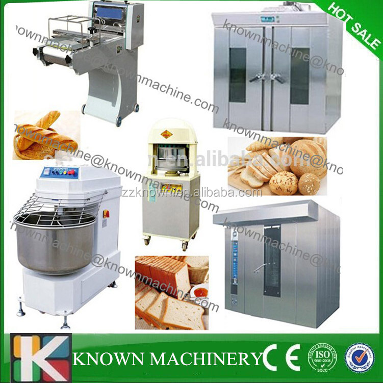 Automatic bread production line,toast making machine