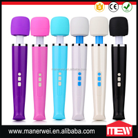 Body care electric full body massager 8 speeds cheap price av wand