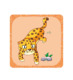 Preschool educational card with learning app/3D AR horse electronic card