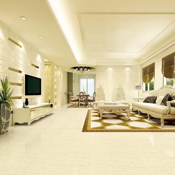 Polished Porcelain Glazed Floor Ceramic Tile,Homogeneous ...