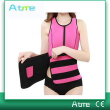 Newly Neoprene Sweat Vest With Pocket Seamless Body Shaper For Women