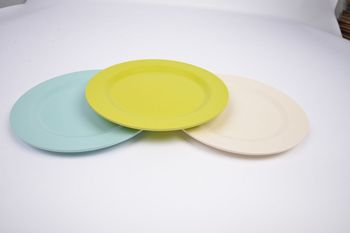 ECO Bamboo Fiber plate & Eco Bamboo Fiber Plate - Buy Disposable Bamboo PlateBamboo Melamine ...