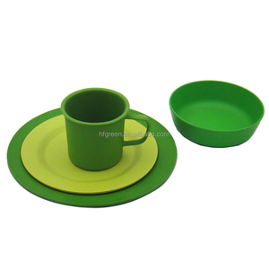 Fantastic bamboo fiber biodegradable tableware
