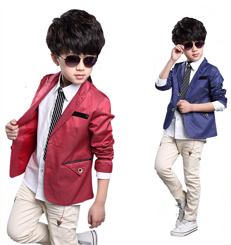 0699cbab4084 2015 spring and autumn male child outerwear child suit spring boy child  casual blazer