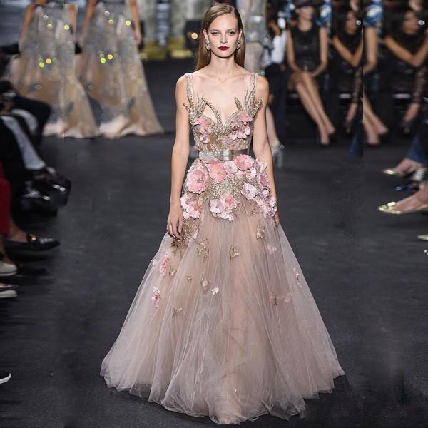 Floral Pregnant Evening Dress Beijing,Elie Saab Dress Of Evening ...