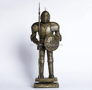 Ancient Warriors Figurines Medieval Knight Armour