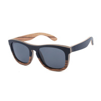 trending hot products italian alibaba eye glasses two tone zebra wood polarized fishing glasses