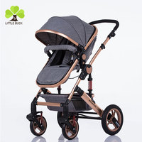 China manufacturer supply luxury trolley including car seat wholesale baby stroller 3 in 1 luxury cheap pet stroller