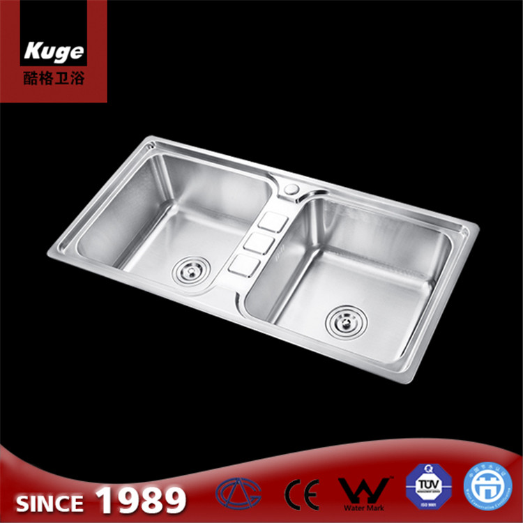 Deep Small Double Kitchen Sink