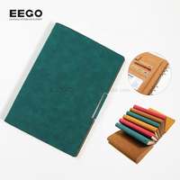 Hardcover luxury gift address phone logo printing magnetic notepad with pen journal book