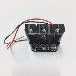 Hot sale AA Battery holder with wire leads battery