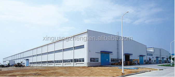 design installation prefabricated workshop light steel structure