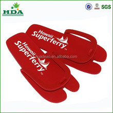 quality hot sale dispoable eva pedicure slippers printing