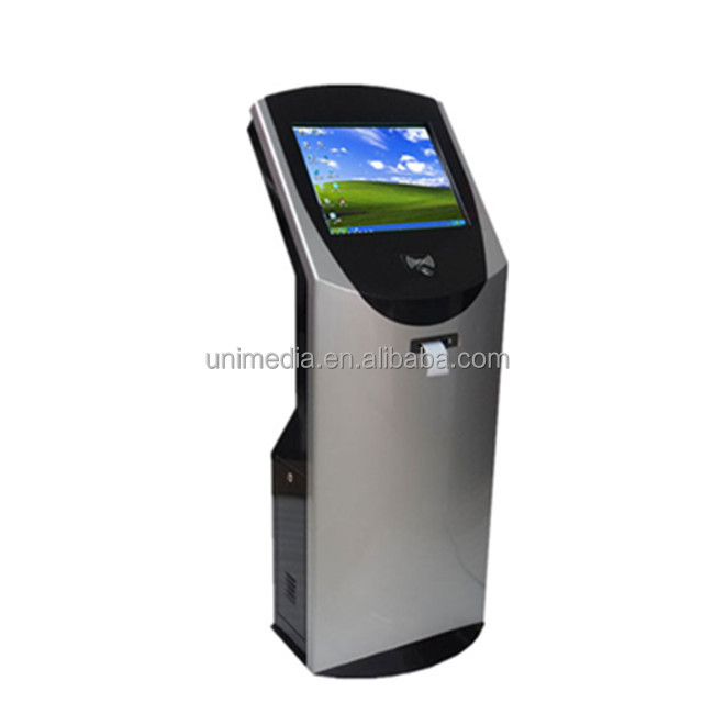 Smart query ticket printer touch screen 22 inch 19 inch terminal kiosk