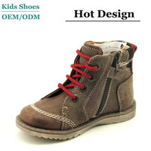 Tan color nubuck leather boys stylish casual shoes cheap price men shoes casual