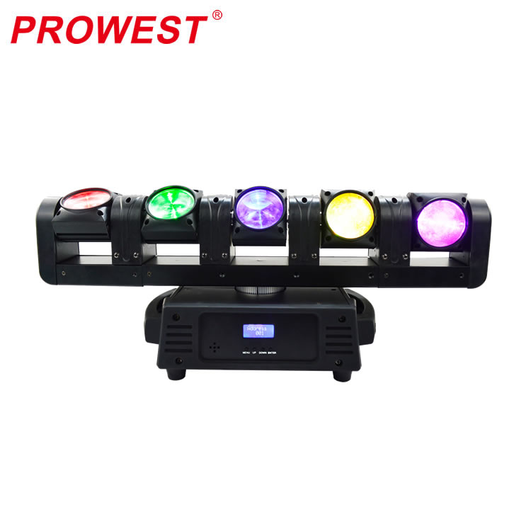 6/18/29/31CH DMX Infinite LED Moving Head Bar Wash light 5*12W RGBW 4in1 DJ Disco Stage Light