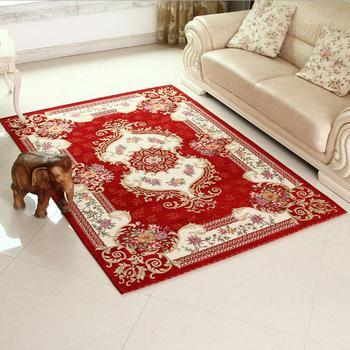 unikea classique rouge tapis tapis pour salon chambre grande