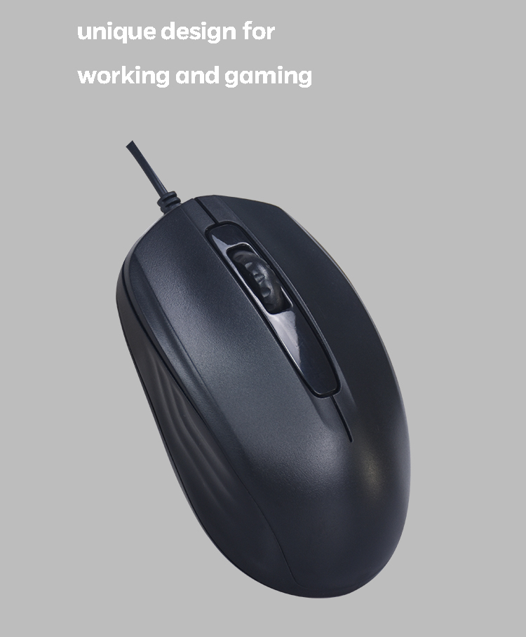 China mouse and keyboard manufacturer support computer mouse types for wholesaler