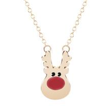 Детское эмалированное ожерелье Cxwind, вечерние украшения в виде мультяшного кота и пингвина, ожерелье с подвеской в виде животного(Китай)