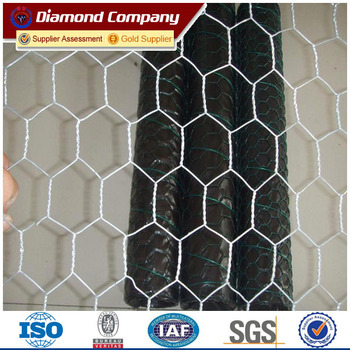 Cheap Hexagonal 1/2 Hex Mesh Chicken Wire Mesh Poultry Wire ...