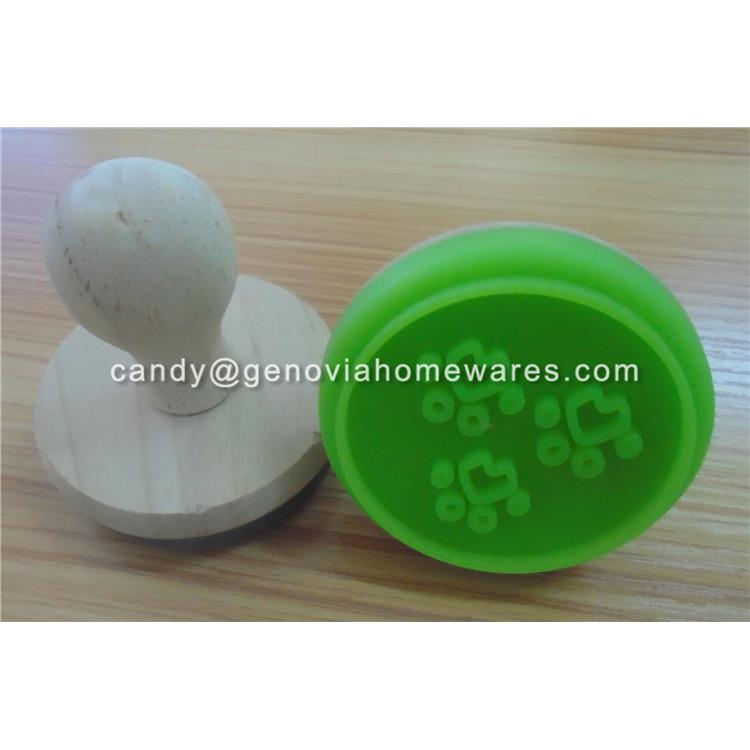 REACH and EU regulation silicone cake stamp made in China