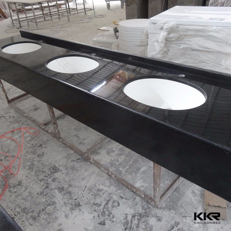 Prefab White Kitchen Countertop Granite