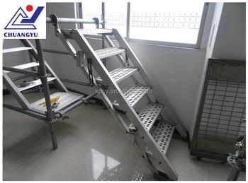 Gentil Japanese Type Aluminium Scaffolding Stair Ladder