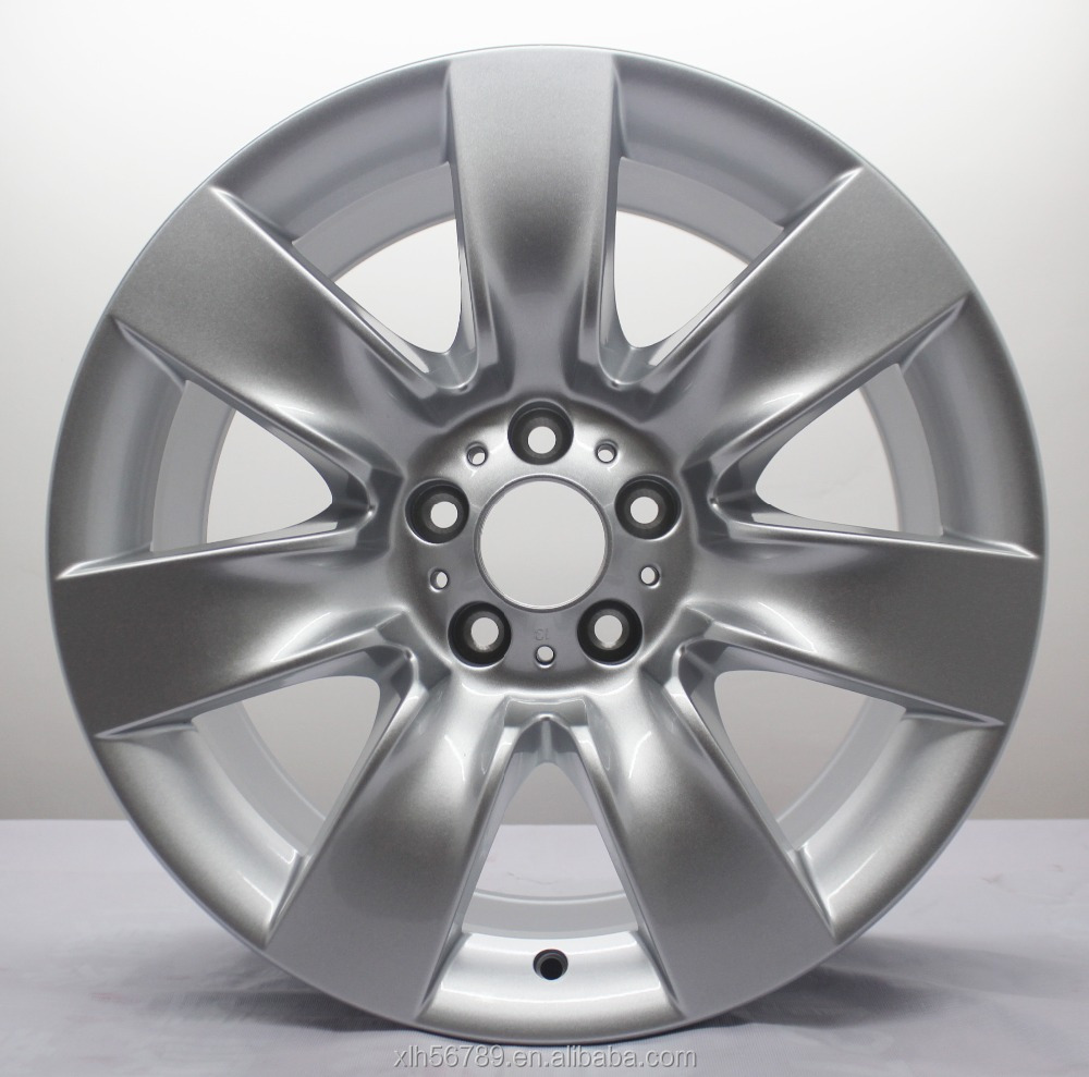 new design silver car alloy wheels / aluminum car mag wheel rim 19 inch