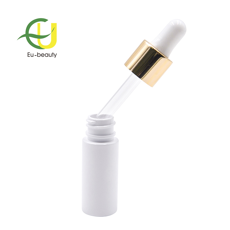 20ml Plastic PET dropper bottle with 18mm aluminum dropper