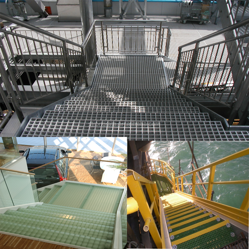 Frp Grating Flooring For Maintenance Platform