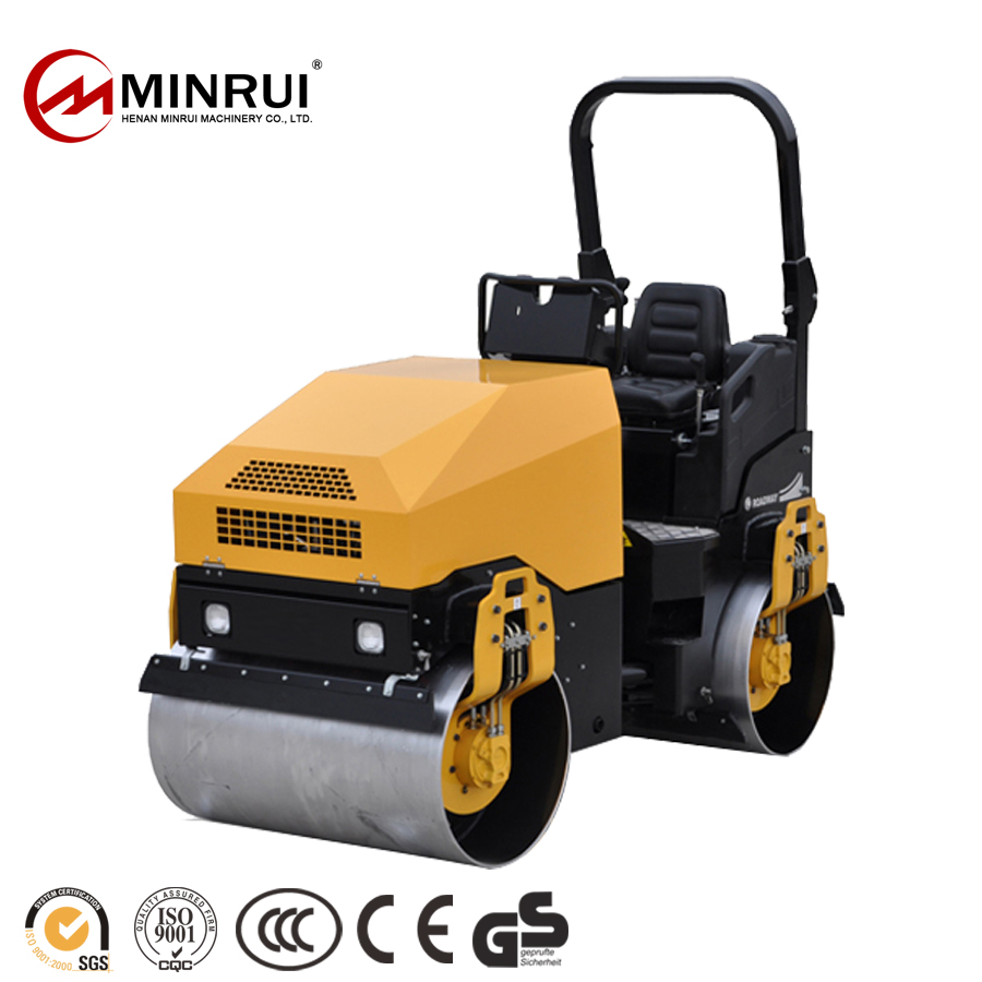 Manufacturer Supplier 2 ton vibrator roller bomag with high quality