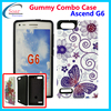 custom printed phone case for huawei G6,design combo case for Huawei Ascend G6