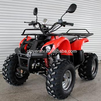 4 Stroke Air Cooled Sport Quad Atv 110cc Bull Atv With Rear Mirror