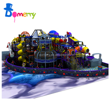 Attractive kids colorful eco-friendly electric wooden indoor playground