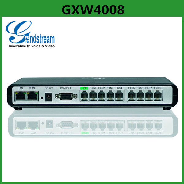 Grandstream GXW400x FXS Series 8 Port Voip Gateway Grandstream GXW4008