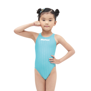 0a571cde0707e Girls One Piece Swimwear Plain Racing Swimsuit Triangle Swimsuits ...