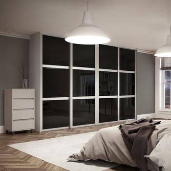 Simple Bedroom Cupboards Laminated Designs Inside Wooden Almirah