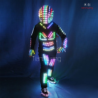 DMX512 Controlled Team Dance LED Costumes