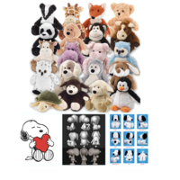 New arrival High quality baby toys 2019 most popular Manufacturer soft small animal plush toys