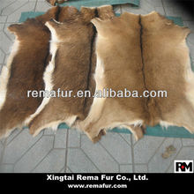 Factory wholesale raw goat skins in natural color
