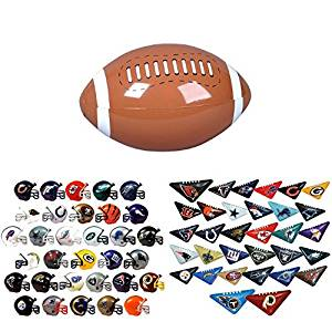 Mini Nfl Football Helmets and Table Top Football Flickers Complete Sets of  32 Each 61b1c9a8f