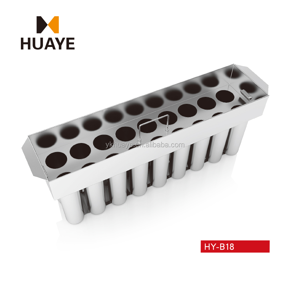 HY-B18,stainless steel ice lolly mould good quality