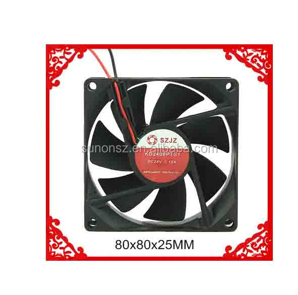 Shenzhen DC12V/24V/48V Generator Cooling Fan with Low Energy Power Consumption